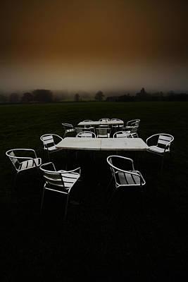 ...deserted Dessert.. Art Print by Russell Styles