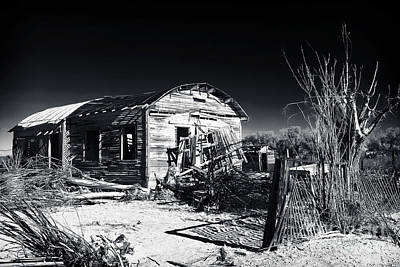 Old School Houses Photograph - Deserted In The Desert  by John Rizzuto
