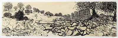 Deserted Landscape Art Print by Jeanne Ward
