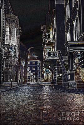 Photograph - Deserted Street by Steven Liveoak
