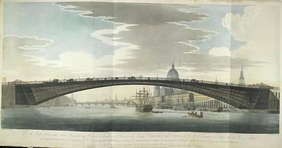 Design For A Cast Iron Bridge Art Print