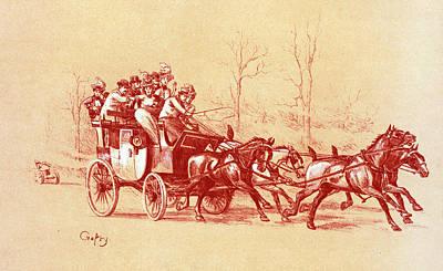 Design For Maîtres De Lposter Art Print by Liszt Collection