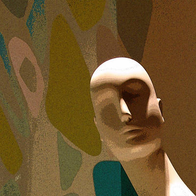 Digital Art - Design With Mannequin by Ben and Raisa Gertsberg