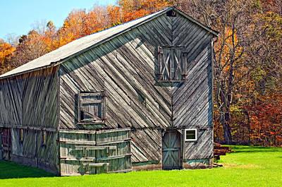 Fence Photograph - Designer Barn 2 by Steve Harrington