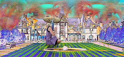 Fantasy Digital Art - Designers World by Betsy Knapp