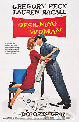 Bacall Photograph - Designing Woman, Us Poster Art by Everett