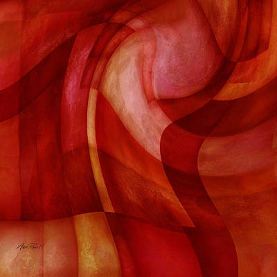 Painting - Desire - Abstract Art  by Ann Powell