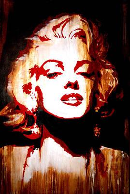 Desire Marilyn Monroe Art Print by Brad Jensen