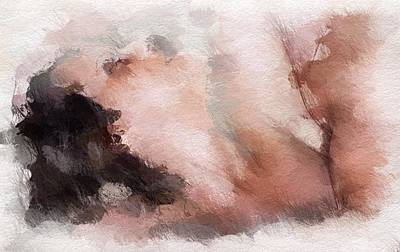 Couple Mixed Media - Desire by Steve K