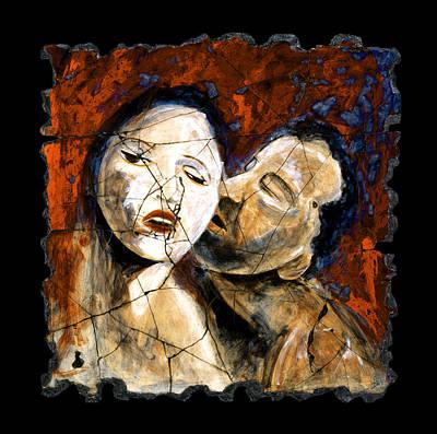 Painting - Desire by Steve Bogdanoff