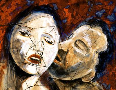 Painting - Desire - Study No. 1 by Steve Bogdanoff