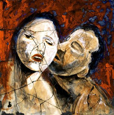 Painting - Desire - Study No. 2 by Steve Bogdanoff