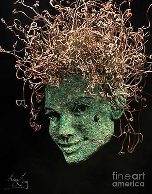 Tendrils Mixed Media - Desired by Adam Long
