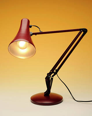 Familiar Object Photograph - Desk Lamp by Public Health England