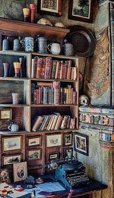 Mercer Tile Photograph - Desk Nook by Ken Curtis