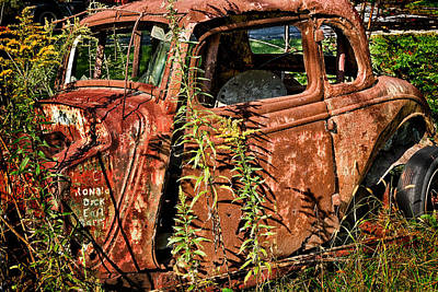 Photograph - Desolate Auto by Denis Lemay