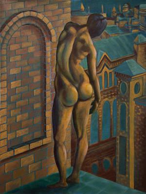 Painting - Desolation City by Siyavush Mammadov