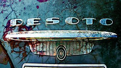 Digital Art - Desoto De-rust by Greg Sharpe