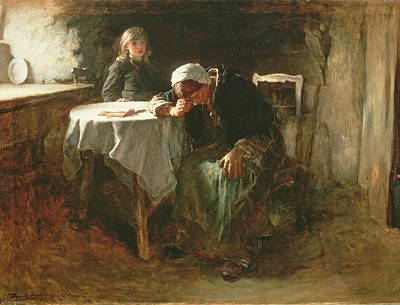 Crying Painting - Despair, 1881 by Frank Holl