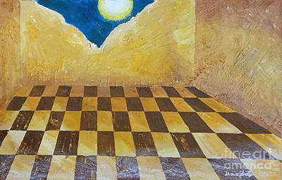 Painting - Despair by Marisa Gabetta