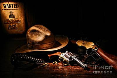 Outlaw Photograph - Desperado by Olivier Le Queinec