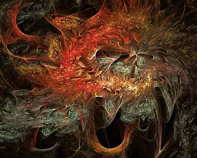 Digital Art - Desperate Anguish Of Terrorism by Doug Morgan