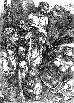 Desperate Man 1515 Art Print by Padre Art