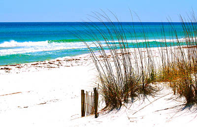 Curtains Photograph - Destin, Florida by Monique Wegmueller