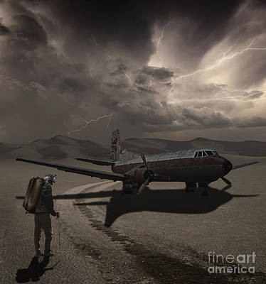 Monsoon Photograph - Destination Known by Keith Kapple