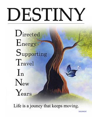 Destiny Buseyism By Gary Busey Art Print