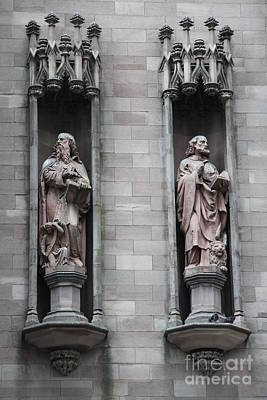 Sculpure Photograph - Detail First Trinity Church by Christiane Schulze Art And Photography
