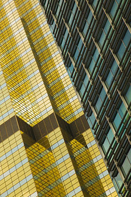 Detail Of A Building, Pudong, Shanghai Art Print by Panoramic Images