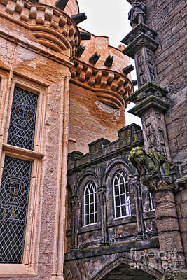 Photograph - Detail Of Castle Of Edinburgh by Kate Purdy