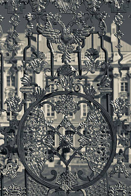 Detail Of The Palace Gate, Catherine Art Print by Panoramic Images