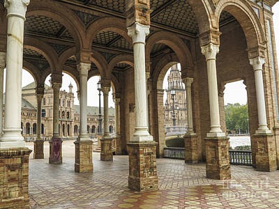 Photograph - Detail Of The Plaza De Espana by Patricia Hofmeester