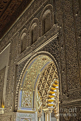 Photograph - Details Of Moorish Architecture by Patricia Hofmeester