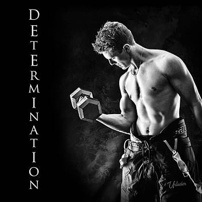 Youth Digital Art - Determination by Elizabeth Urlacher