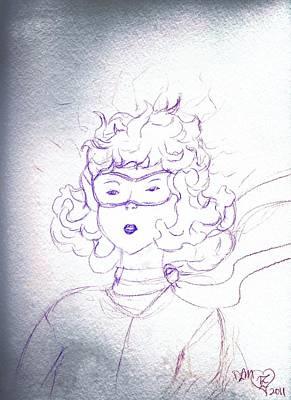 Grit Digital Art - Determination Of Young Amelia Earhart  by Dawna Morton