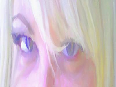Portrait Study Mixed Media - Determined by Dennis Buckman