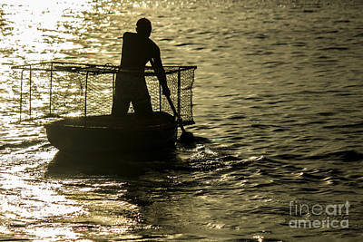 Photograph - Determined Fisherman by Rene Triay Photography