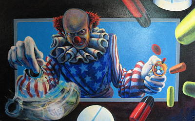 Occupy Painting - Detox by Mike Walrath