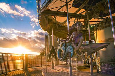 Photograph - Detroit Carrousel  by John McGraw