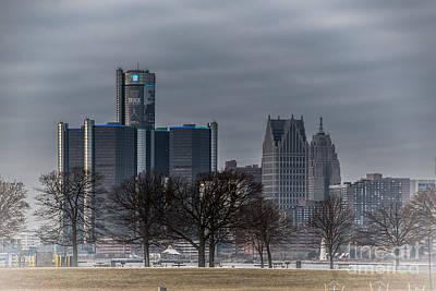 Photograph - Detroit Michigan by Ronald Grogan
