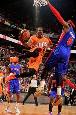 Photograph - Detroit Pistons V Phoenix Suns by Barry Gossage