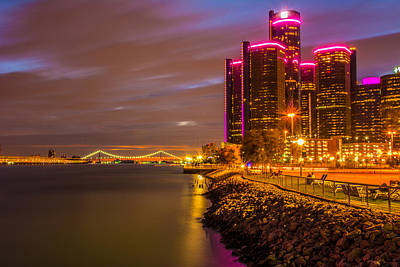 Photograph - Detroit Riverwalk by Pravin  Sitaraman