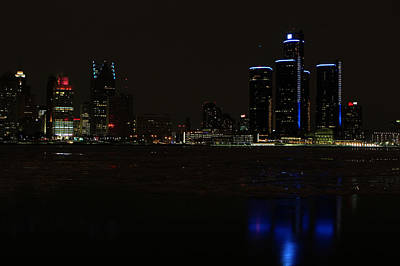 Photograph - Detroit Skyline by Jerome Lynch