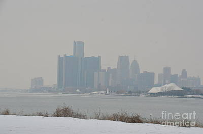 Photograph - Detroit Skyline by Randy J Heath
