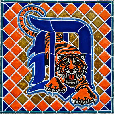 Detroit Tigers Art Print by Frozen in Time Fine Art Photography