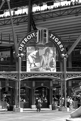 Detroit Tigers Stadium Original by Chris Smith