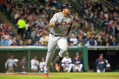 Photograph - Detroit Tigers V Cleveland Indians by Jason Miller